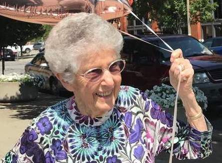 Vegan woman who switched her diet at 96 tells how she feels 'wonderful'