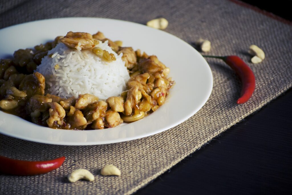 "Cashew ""Un-chicken"""